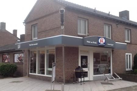 Barbecue compleet P. van Kraaij, Keurslager